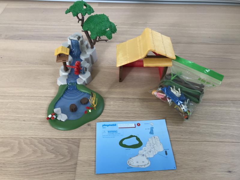 Playmobil zoo - Nymøllevej 51 - Playmobil zoologisk have, helt intakt og med samlevejledning. - Nymøllevej 51